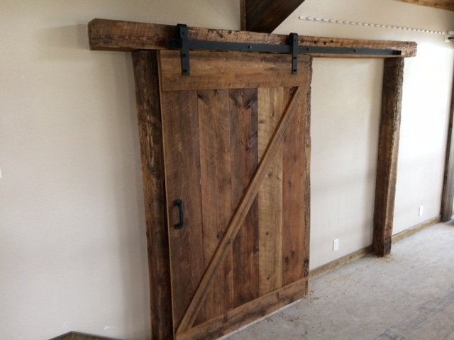 Reclaimed Wood Barn Doors Mr Timbers