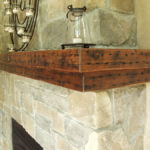 Beganik fireplace mantel