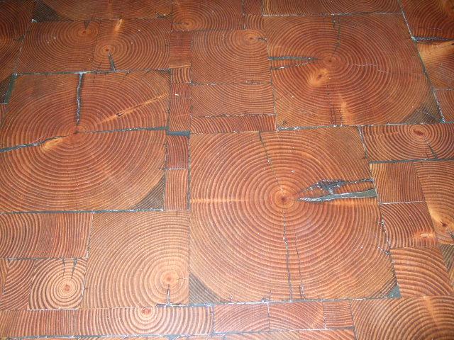 Reclaimed Wood End Grain Flooring Tiles Mr Timbers
