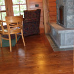 red colored douglas fir rustic reclaimed wood