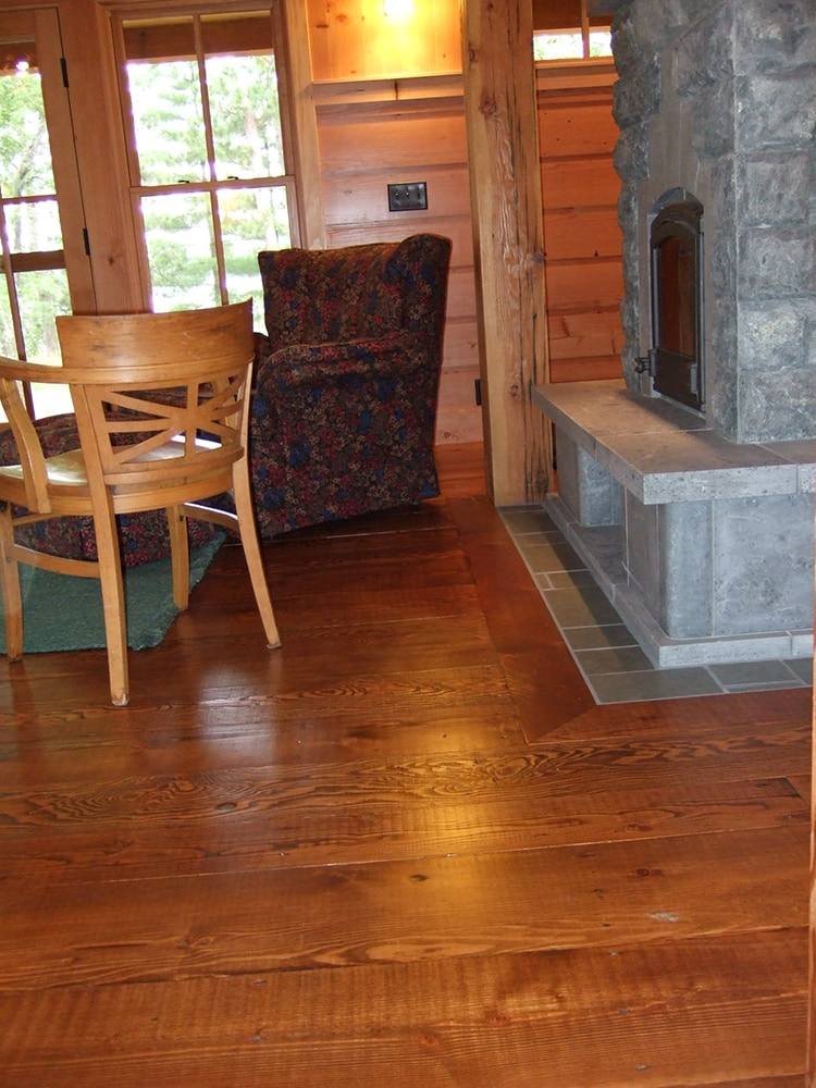 Reclaimed wood douglas fir rustic rough sawn flooring for Reclaimed douglas fir flooring