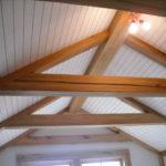 golden antique elm timbers
