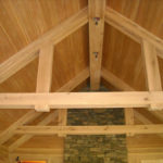 Light antique elm timbers