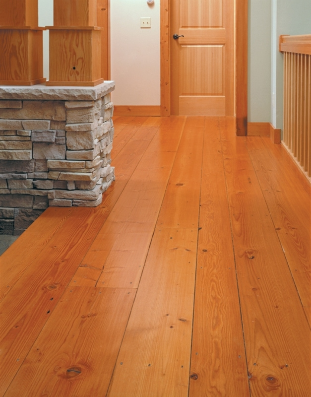 Reclaimed wood manomin signature douglas fir flooring for Reclaimed hardwood flooring