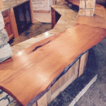 Full size reclaimed wood table