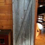 gray barn door