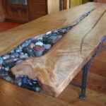 Manomin reclaimed wood table top