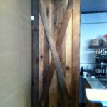Original face barn doors