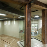 dark weathered antique timbers