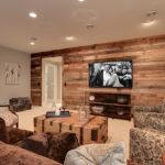mixed hardwood wood paneling
