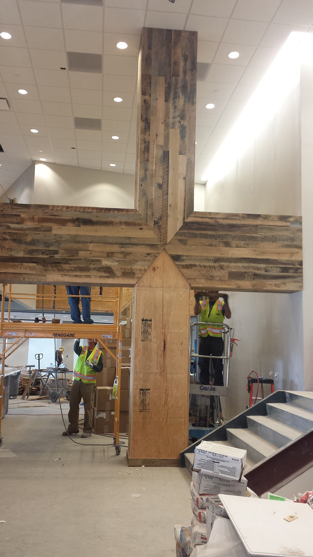 Old Wood Wall Paneling: Antique Oak Wall Paneling