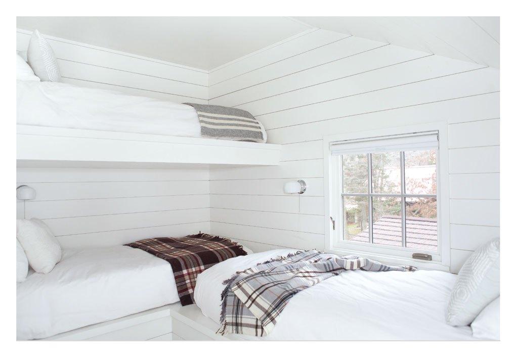 Transformed Cabin Guest Room