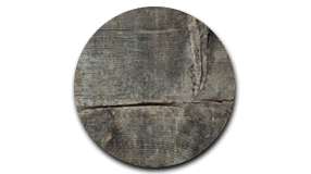 Close up of grey panel