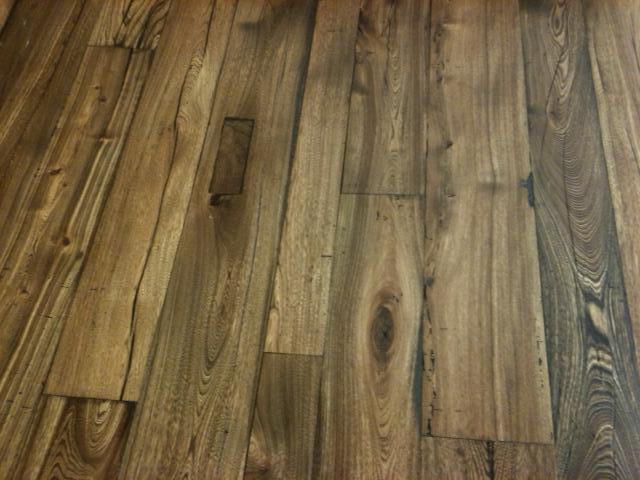 Elm Wood Flooring Reclaimed Wood Planks Manomin Resawn