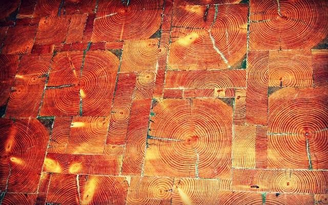 End Grain Reclaimed Wood Flooring Tiles, Flooring, Recycled Wood