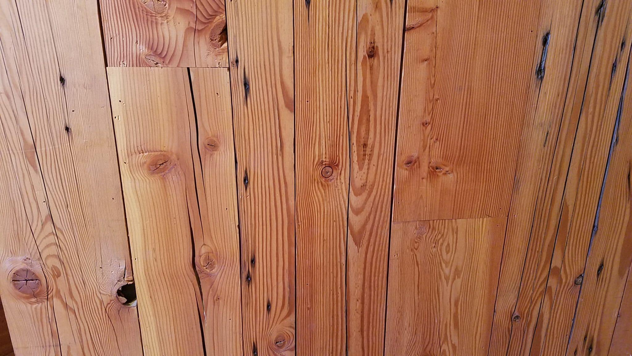 reclaimed douglas fir paneling