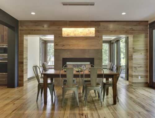Manomin Resawn Timbers Featured Project Series – Contemporary Home With Hardwood Walls