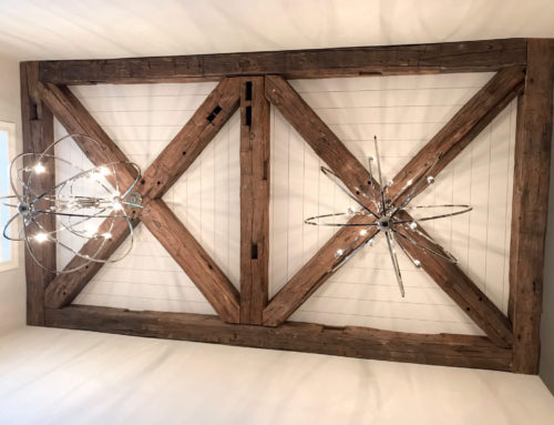 MR Timbers Featured Project Series – Weathered Antique Timbers