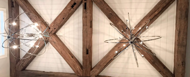 antique timbers light fixture