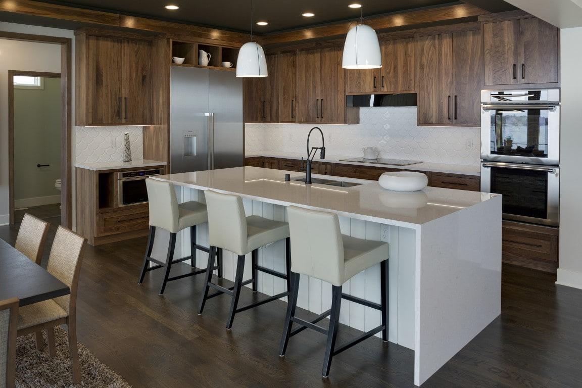 modern interior kitchen