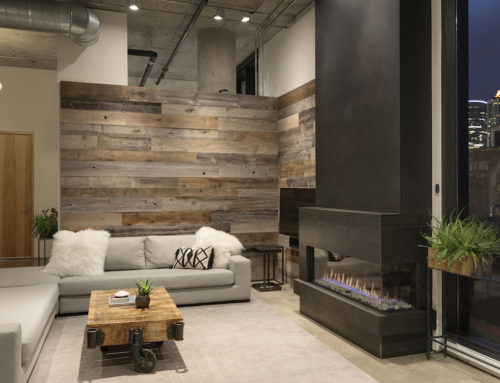 Mill District Loft Spotlight—Featuring Weathered Antique and Weathered Gray Reclaimed Wood