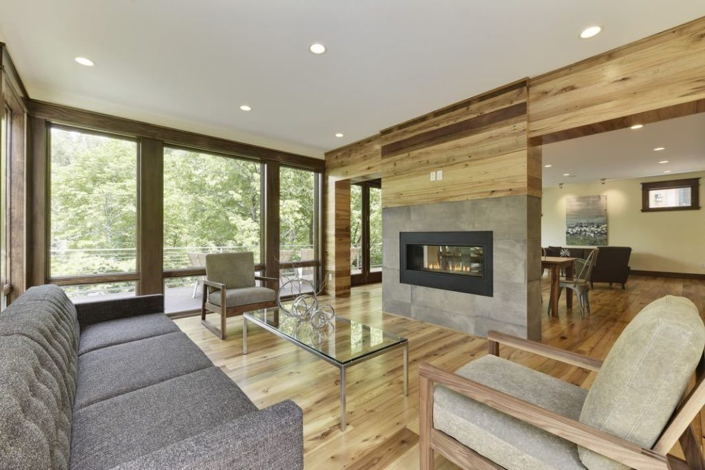 elm flooring in natural living room