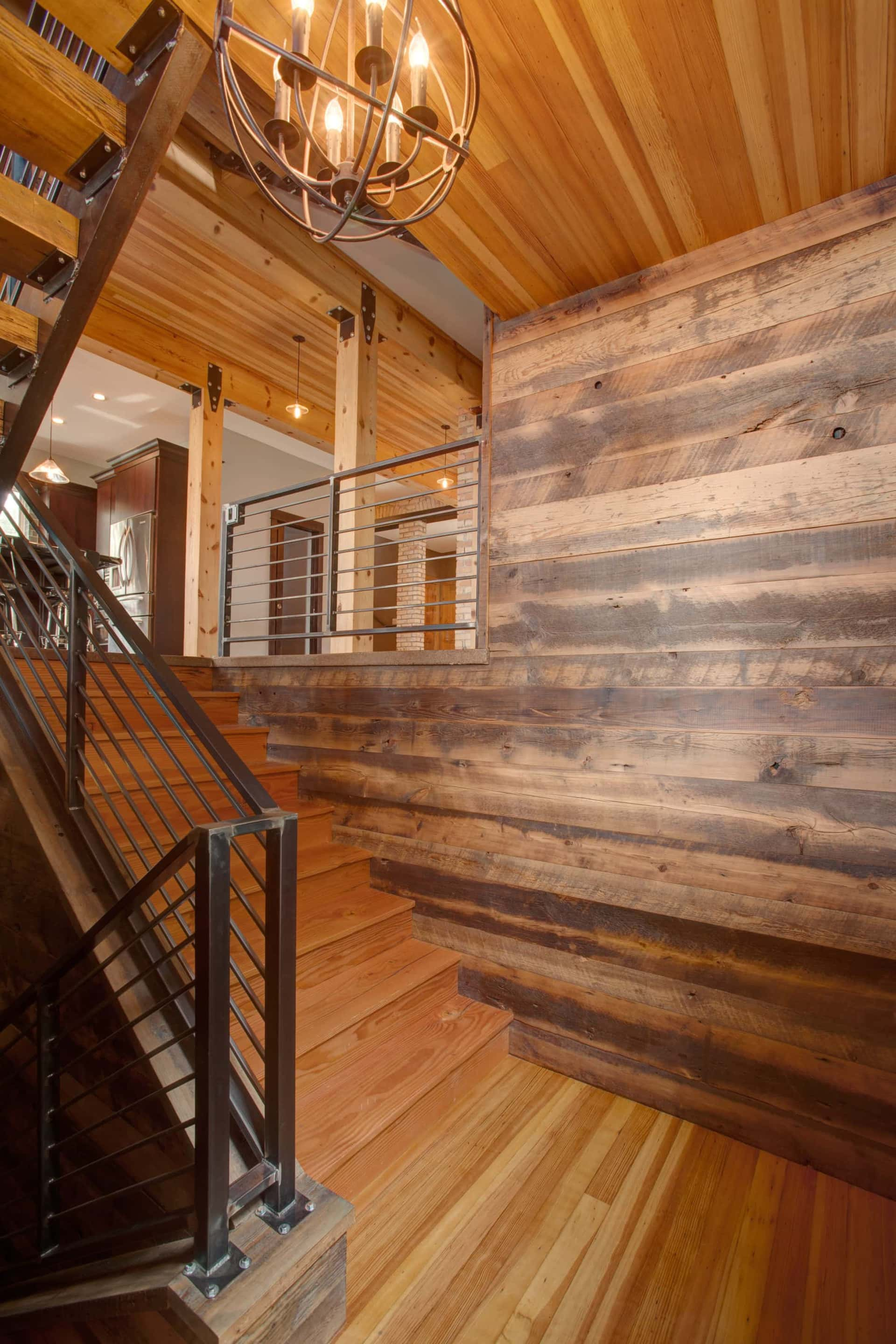 Old Wood Wall Paneling: Authentic Antique Lumber